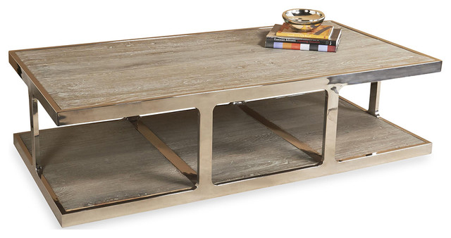 interlude home soto cocktail table - transitional - coffee tables