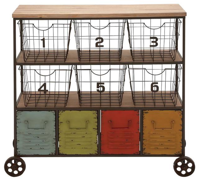 Metal Storage Cart.