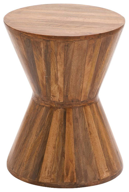 Modern Inspired Style The Cool Wood Plank Stool Home Decor 24897