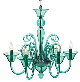 Calais chandelier aquamarine modern chandeliers by z gallerie mozeypictures Gallery