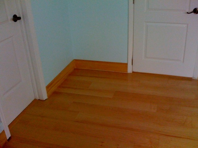 Wood Floors And Baseboard Work In Surfside, FL Modern
