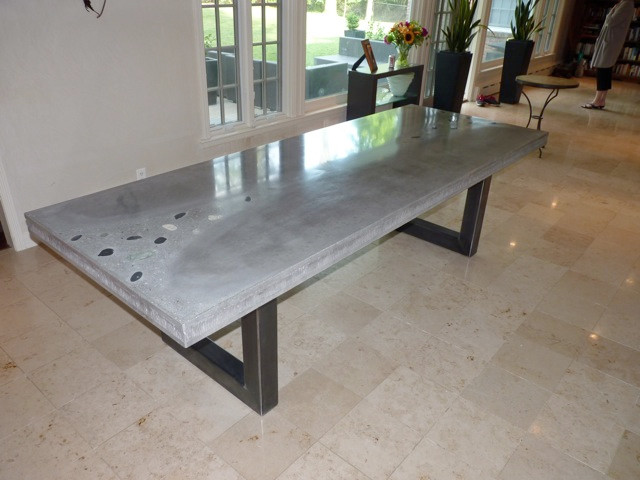 Concrete Table Modern Dining Tables Other By Jm Lifestyles