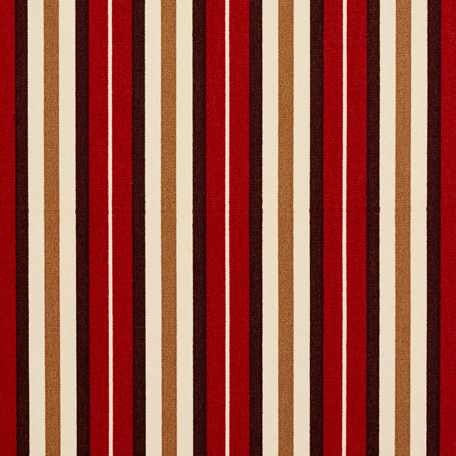 brown burgundy orange small stripe print outdoor indoor upholstery f by the yard