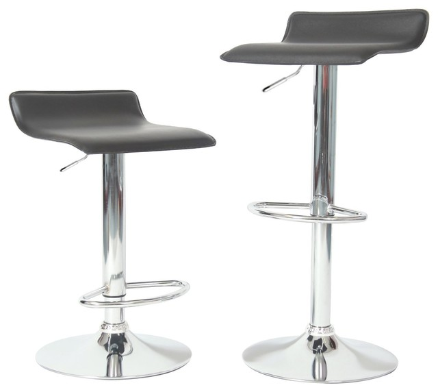 Ediors Adjustable Height Bar Stool Set of 2 Modern  : modern bar stools and counter stools from www.houzz.com size 640 x 572 jpeg 30kB