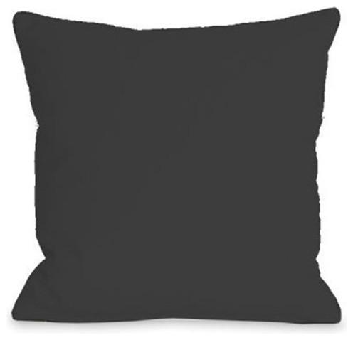 Solid Color Outdoor Throw Pillow By Onebellacasa Contemporary