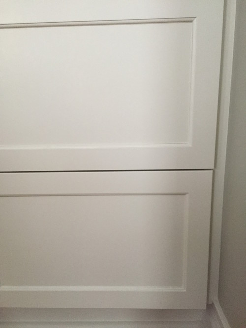 Painted Cabinet Doors Cracking