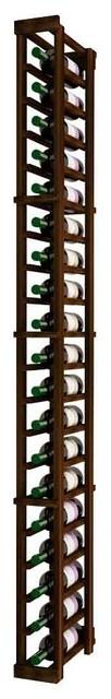 Una Wine Rack, Pine And Walnut.