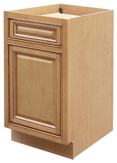 Sagehill designs cgb18 collingwood single door base for Single kitchen cabinet