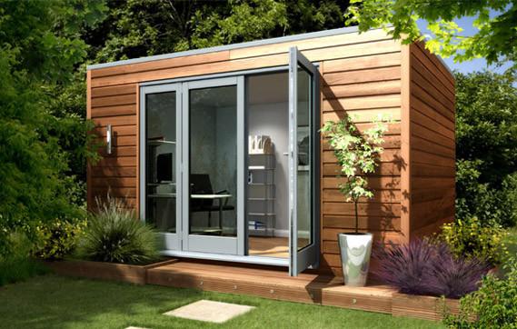 7 Instant Backyard Getaways, Prefab Garden Sheds