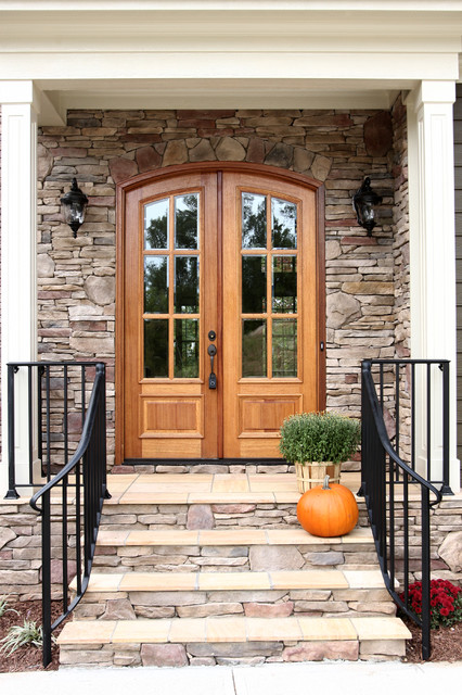 French woods traditional entry raleigh by colorful for Colorful concepts interior design