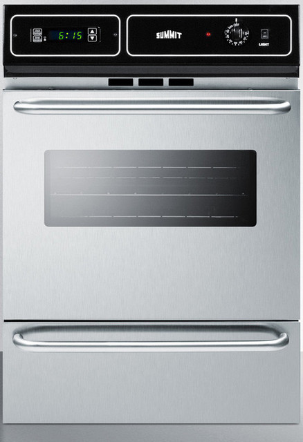 24 Quot Gas Wall Oven Contemporary Ovens By Appliances
