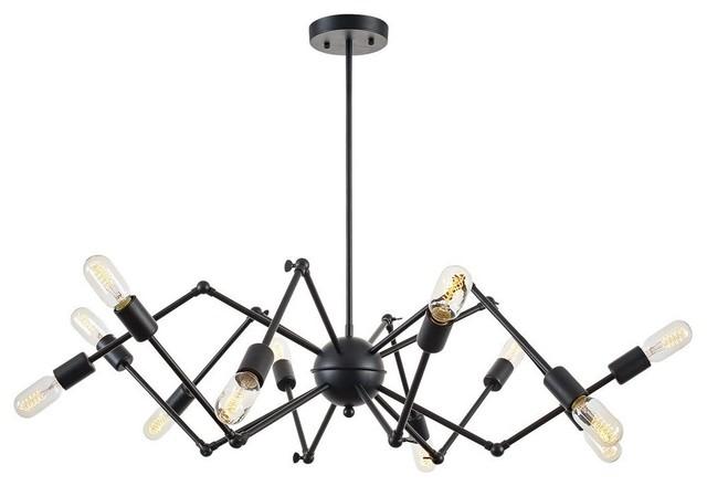 12 Light Arachnid Chandelier Kitchen Island Dining Room