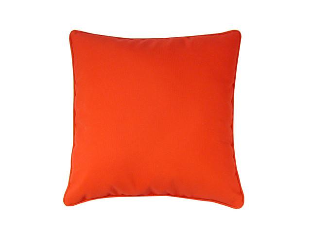 Sunbrella Premium Solid 18X18 Pillow Logo Red Indoor / Outdoor