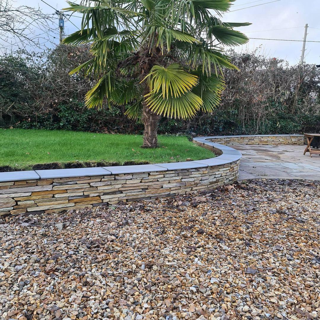 Garden Wall - Lymington