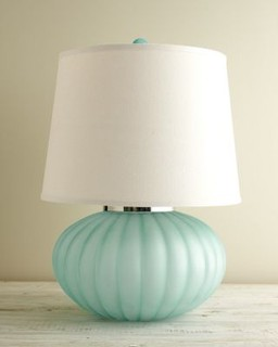 sea glass table lamps sea glass table lamp contemporary table lamps 5091