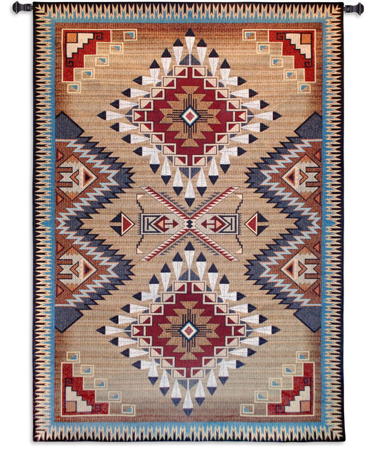 Southwest Red Earth Tapestry Wall Hanging Southwestern
