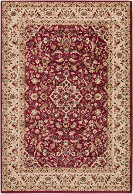 Clean wool natural rug