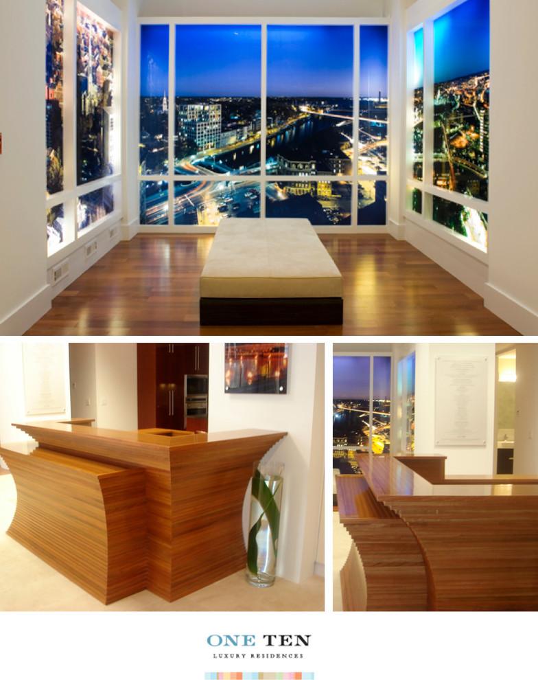 110 Westminster Sales Office / Model Design