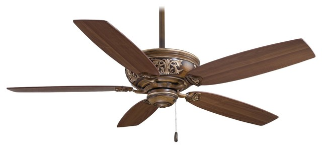 Minka Aire F659-Bcw Classica Belcaro Walnut Energy Star 54 Ceiling Fan.