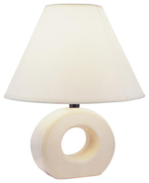 "12"" Ceramic Table Lamp."