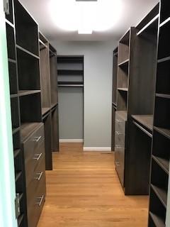 Master Closet in Hudson Cherry Finish - Flat Rock, NC