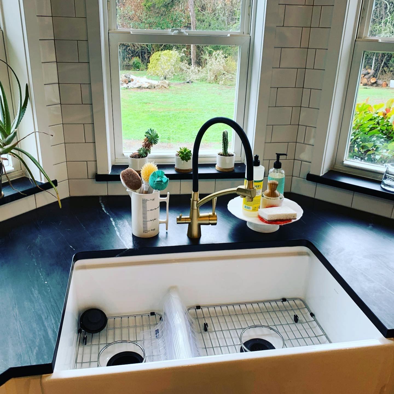 Black Soap Stone Countertops