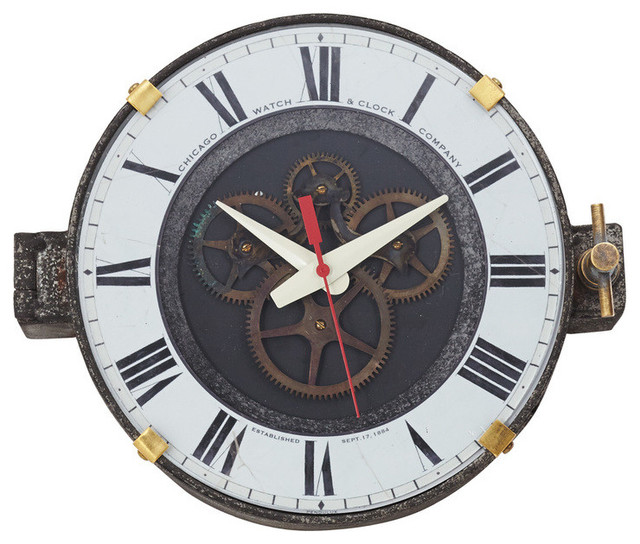 industrial wall clocks melbourne antique for sale clock canada vintage style reproduction factory