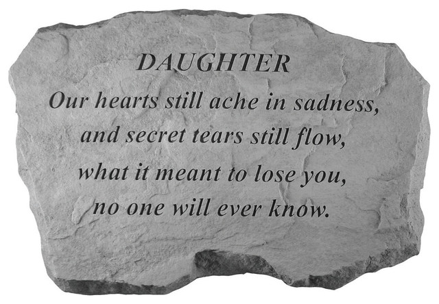 Kay Berry Inc. 99620 Daughter-Our Hearts Still Ache, Sadness Memorial by Kay Berry  Inc.
