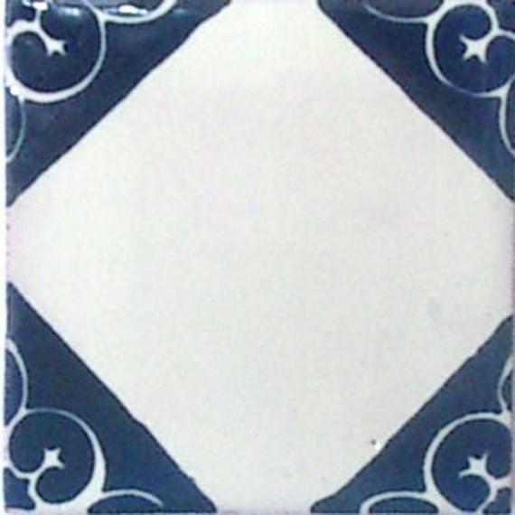 "4""x4"" Mexican Ceramic Handmade Tile #C078"