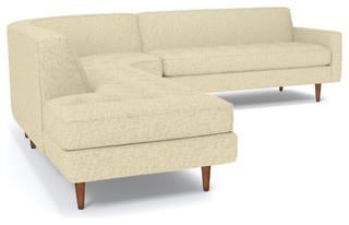 Monroe 3 Piece Sectional Sofa