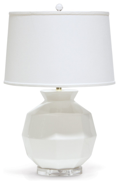 Palecek Holly Ceramic Table Lamp.