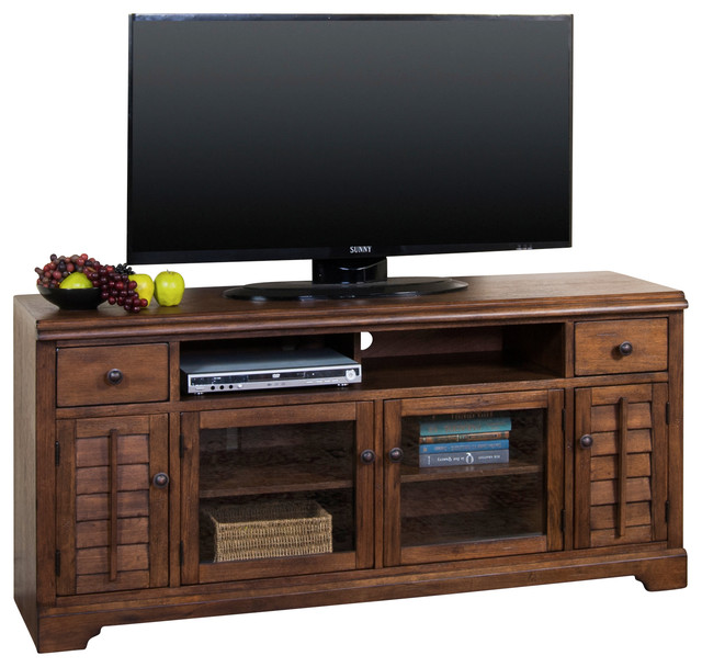 "65""W TV Console - Craftsman - Entertainment Centers And Tv Stands - by Sunny Designs, Inc."