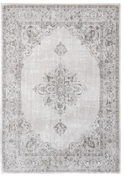Khayma Fairfield 8668 Rug, Pale Grey, 200x280 cm
