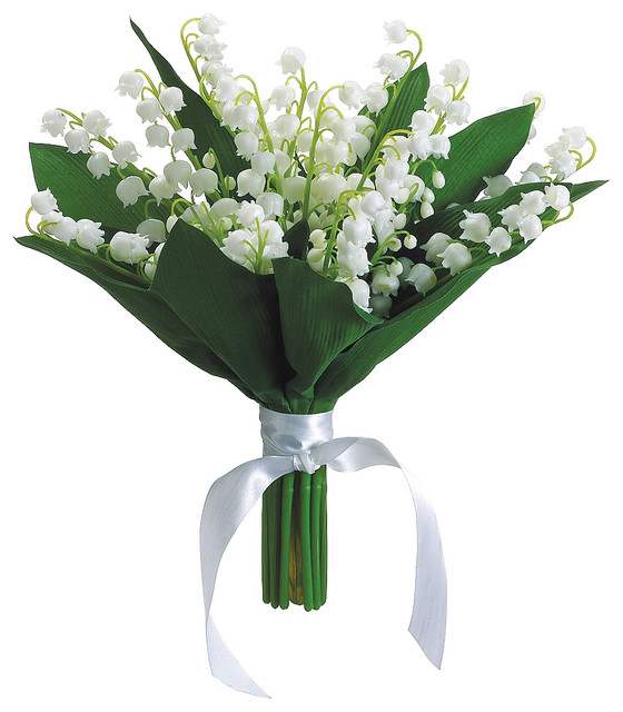 Lily Of The Valley Bouquet: Silk Plants Direct Lily Of The Valley