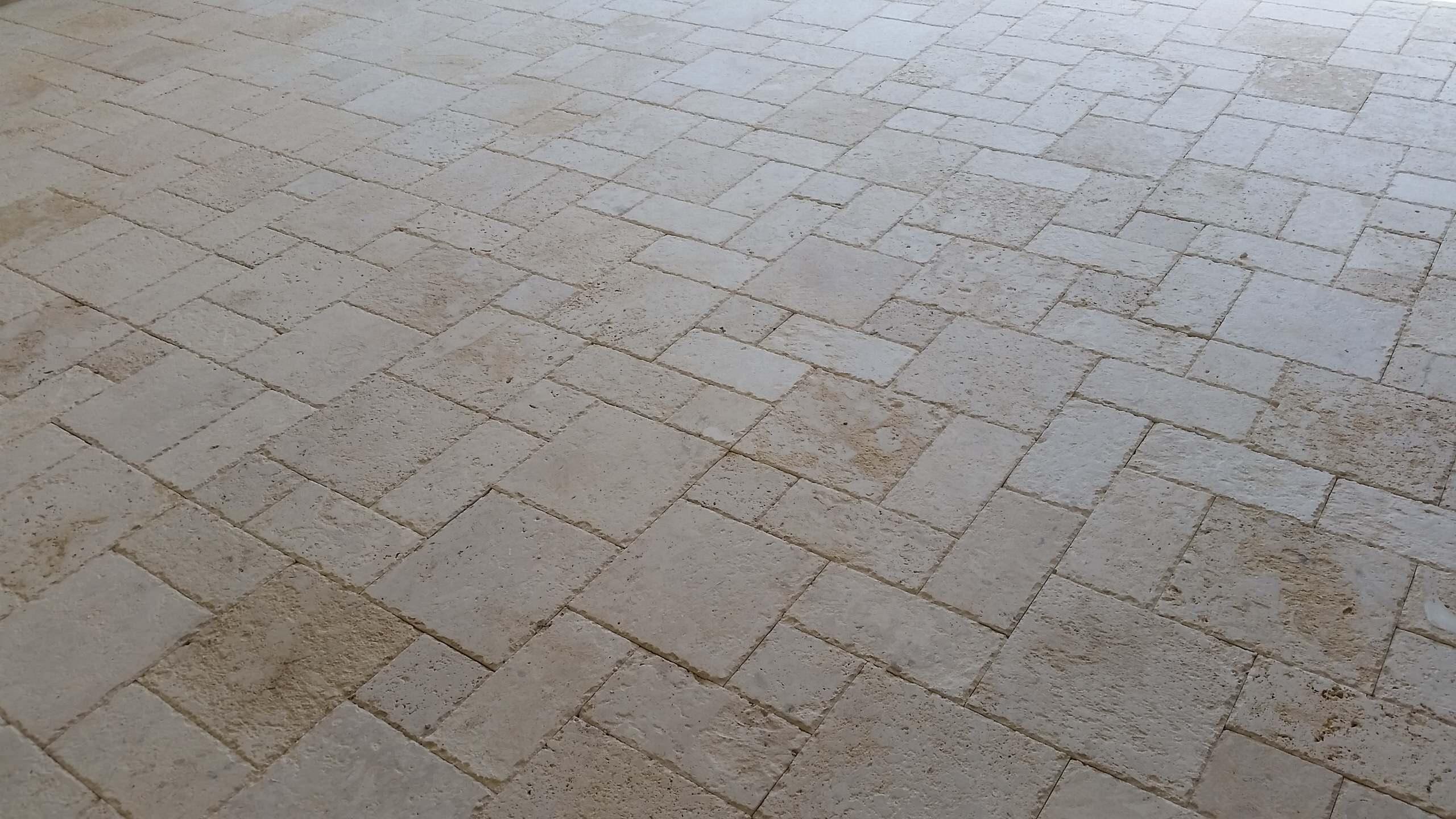 Marbella Shell Stone Patio