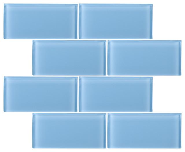 3 X6 Baker Gl Subway Tiles Set Of