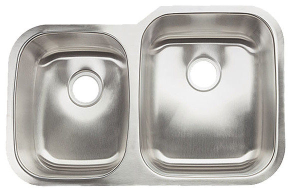 Clark 40/60 Bowl Surface Sink - Contemporary - Kitchen Sinks - by ...