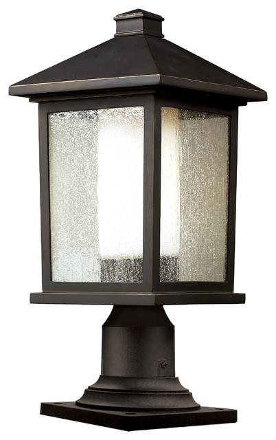 Shop Houzz Z Lite Outdoor Post Light Post Lights