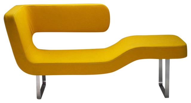 Geo Lounge Chair, Yellow.