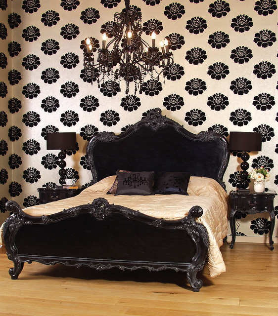 Etonnant Sassy Boo Black French Bed Traditional Bedroom
