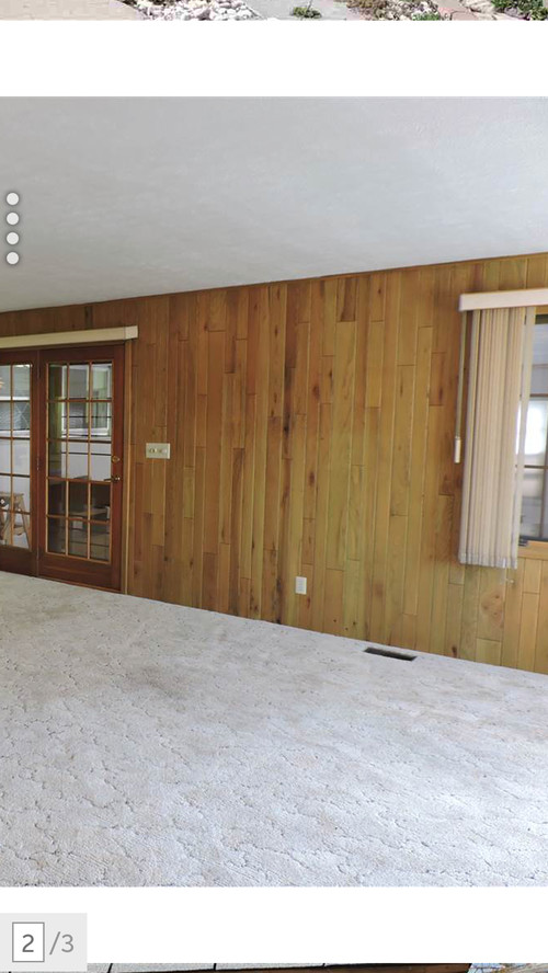 Wood Covered Walls what to do with wood covered walls and wood floor