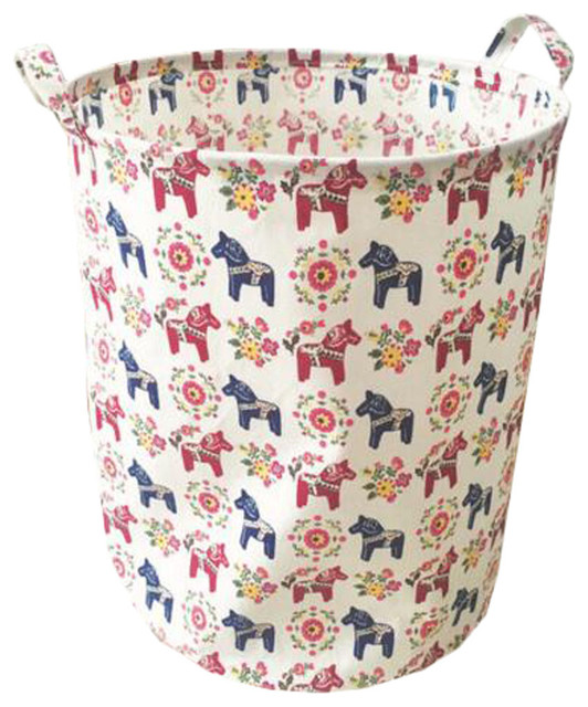Clothes, Laundry, Clothing, Storage Rels Toy Basket, Horse