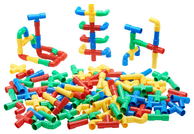 Totally Tubular Pipes and Spouts Set of 4 Contemporary  : contemporary kids toys and games from www.houzz.com size 640 x 442 jpeg 117kB