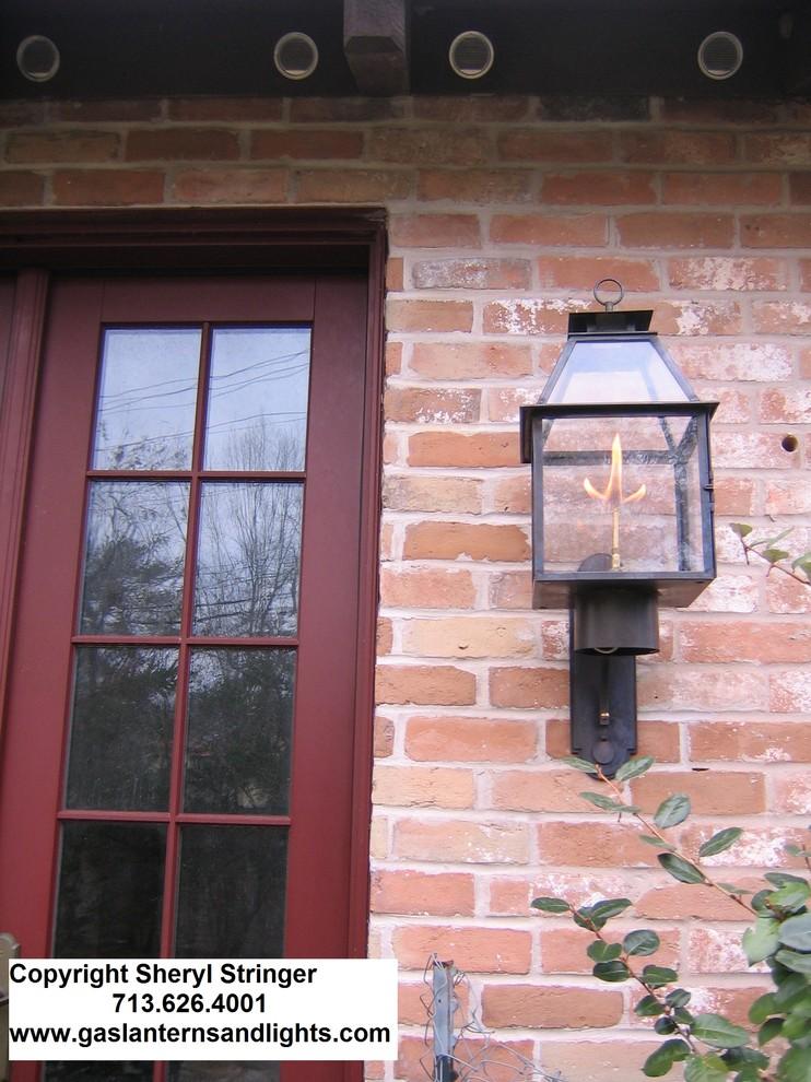 Sheryl's Tanglewood Gas Lantern