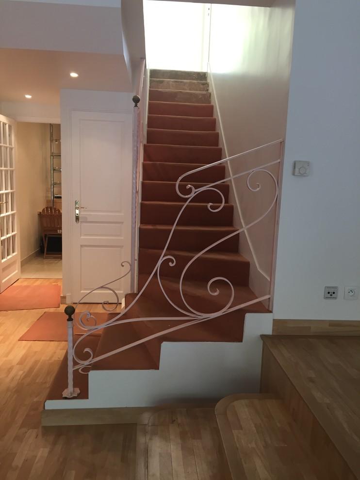 L'escalier avant