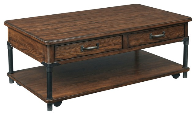 Broyhill Saluda Rectangular Cocktail Table Contemporary Coffee Tables