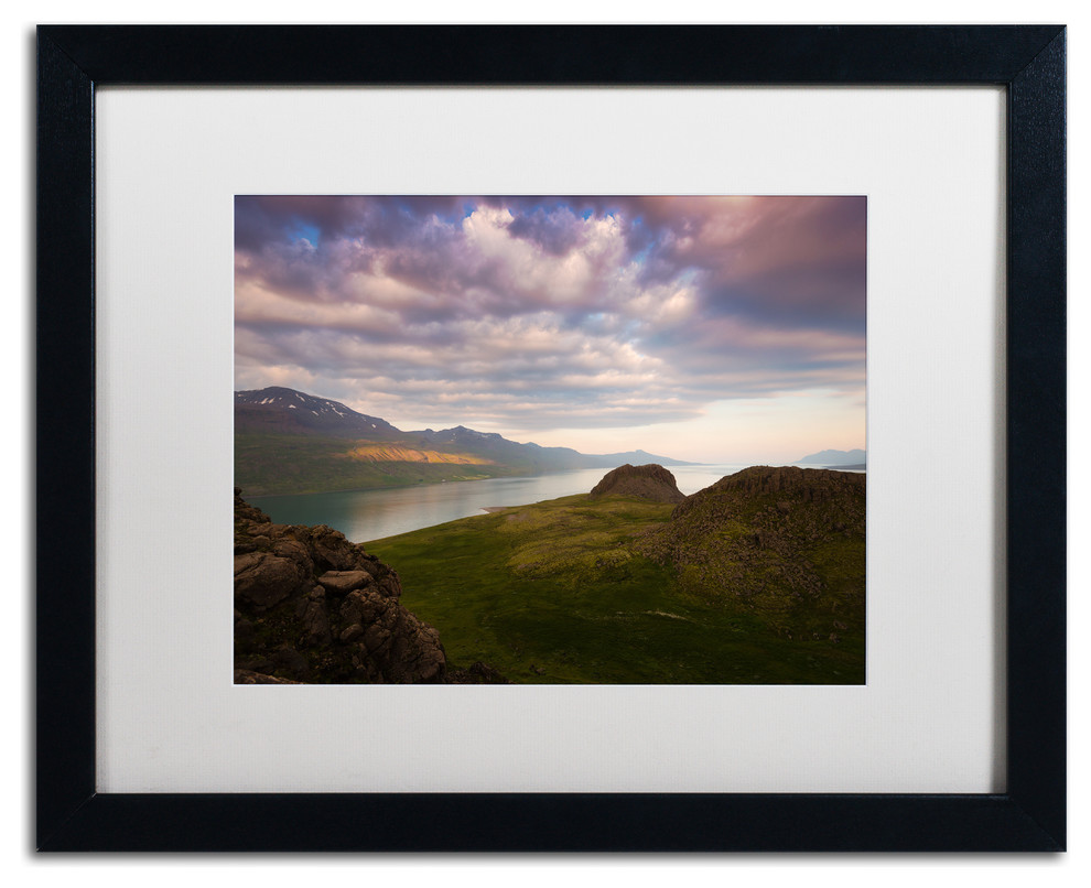 Philippe Sainte Laudy Land Of Living Skies Matted Framed Art Contemporary Prints And Posters By Trademark Global