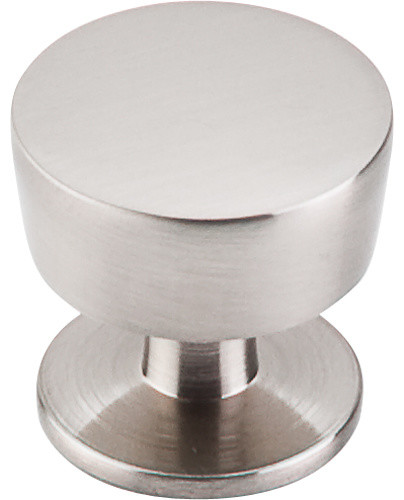 "Top Knobs  -  Essex Knob 1 3/16"" - Brushed Satin Nickel"