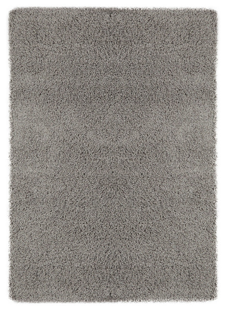 Tessa Shag Rug Gray 3 3 X4 7 Contemporary Area Rugs By