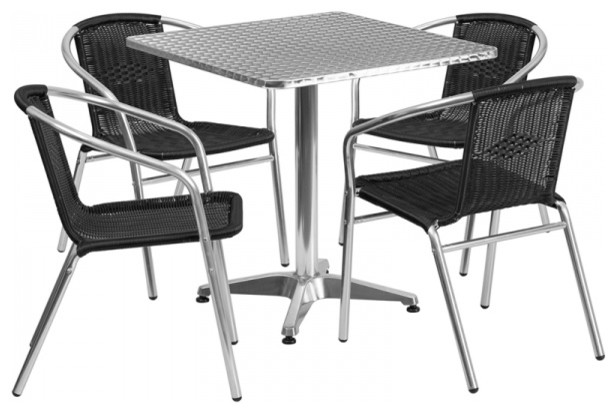 Flash Furniture Indoor Outdoor Table Set Tropical  : tropical outdoor dining sets from www.houzz.com size 616 x 414 jpeg 48kB